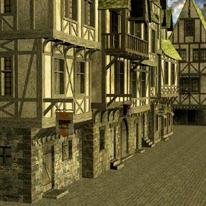 Die Gildenhäuser in Dragolin